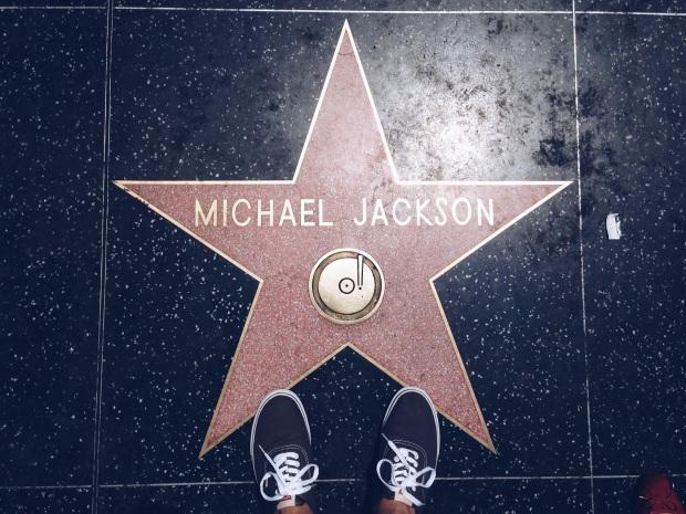 Não achei minha estrela na Calçada da Fama então tive que me contentar com a desse sujeito